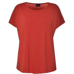 Gozzip Gitte t-shirt chili orange - Gozzip