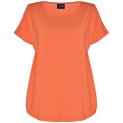 Gozzip Gitte t-shirt lys orange - Gozzip