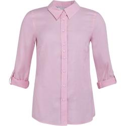 Shirtmaker Jennifer skjorte Rosa - Shirtmaker