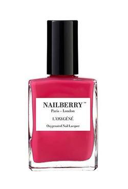 Nailberry oransje neglelakk Pink Berry - Nailberry