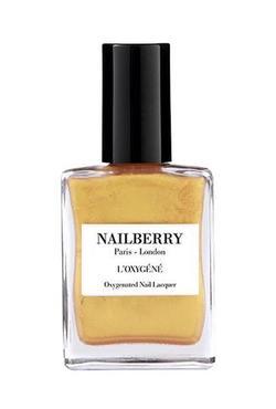 Nailberry oransje neglelakk Golden Hour - Nailberry