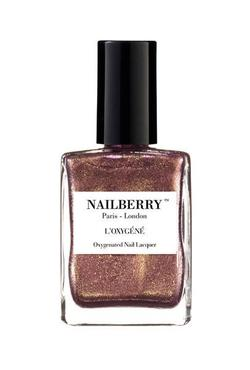 Nailberry oransje neglelakk Pink Sand - Nailberry