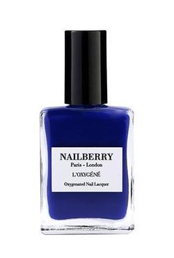 Nailberry oransje neglelakk Maliblue - Nailberry