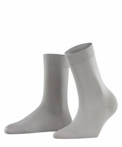 Falke Cotton Touch sokker Lysegrå - Falke