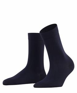 Falke Cotton Touch sokker Marine Blå - Falke
