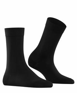 Falke Cotton Touch sokker Sort  - Falke