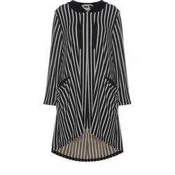 Studio Annelise kjole med hette Stripet - STUDIO