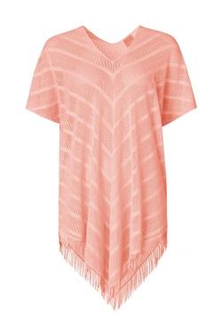 Paula Perfect Poncho  Fersken - Paula Beachwear