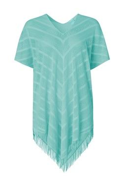Paula Perfect Poncho  Grønn - Paula Beachwear