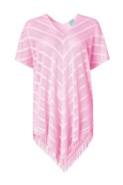 Paula Perfect Poncho  Rosa - Paula Beachwear