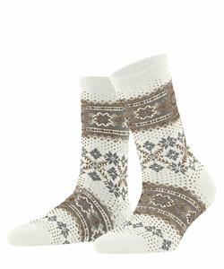 Falke Winter holliday sokker Offwhite - Falke