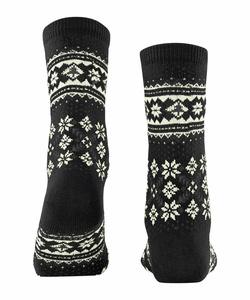 Falke Winter holliday sokker Sort  - Falke