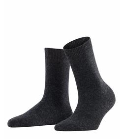 Falke Cosy chasmere ull sokker Mørkegrå - Falke